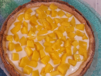 Cheescake cotta al mango