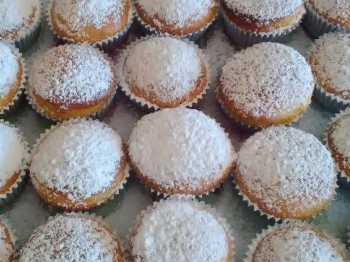 Muffin con succo di frutta