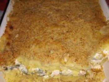 Gateau di patate alternativo: ripieno di zucchine pancetta e fior di latte!!!