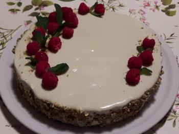 Torta moderna al pistacchio x il compleanno del mio babbo