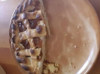 Crostata mascarpone e albicocca