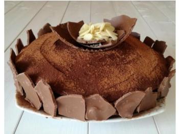 Torta soave al cioccolato