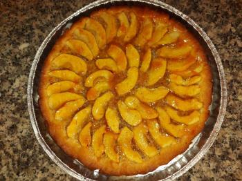 Crostata alle mele con crema frangipane