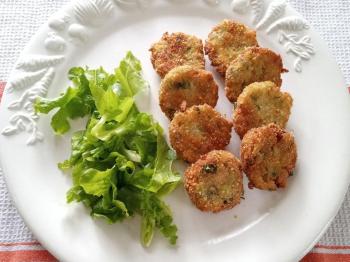 Polpette di zucchine e tonno