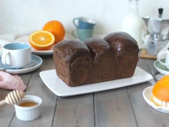 Pan Brioche al Cioccolato e Arancia