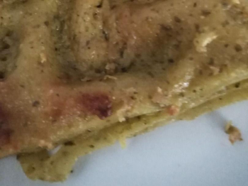 Lasagna al pesto di basilico