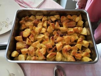 Patate al forno con le seppie