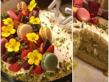 [Sfida LAMPO!]🎉 Le più belle torte di compleanno della Community  Molly cake al pistacchio