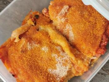 Pitta di patate alla pizzaiola