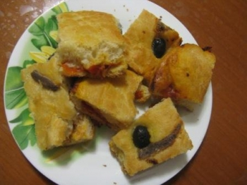 "Pizza rustica ""Pizzica Leccese"""