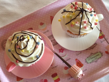 Cupcakes in tazzina