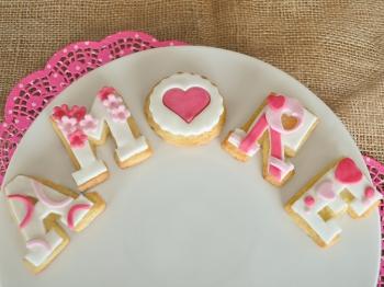 Biscotti dell'amore per San Valentino