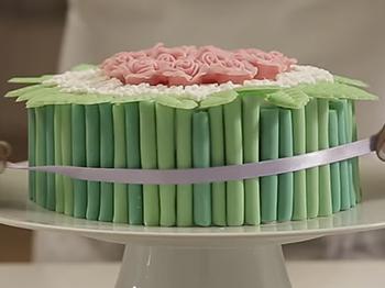 """Torta Mudcake """"Bouquet di rose e fiori"""""""
