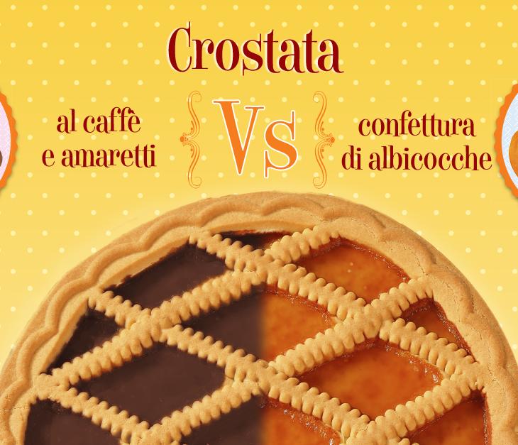Crostata: all'albicocca o al caffè?
