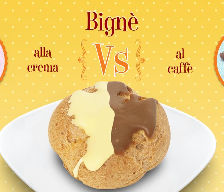 Bignè: alla crema o al caffè?