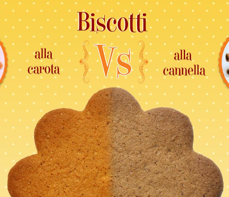 Biscotti: alla carota o alla cannella?