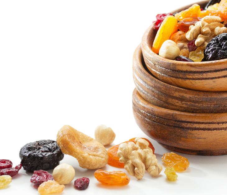 Qualche segreto sulla frutta secca
