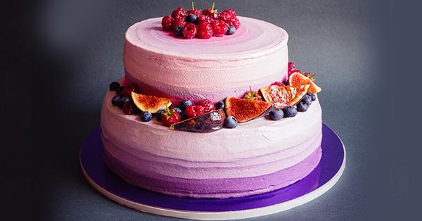 Cake design, arriva la moda dello stile ombre per le wedding cake
