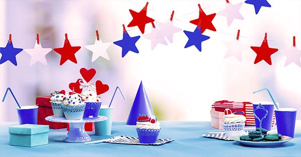 Sweet table: i colori per una festa di compleanno stellare