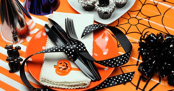Decorazioni per la tavola di Halloween, idee per stupire gli ospiti