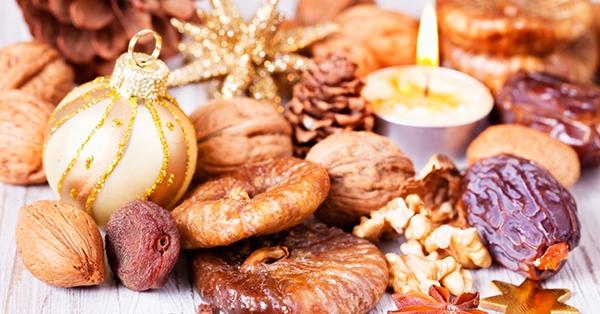 Top 10 della frutta secca per Natale