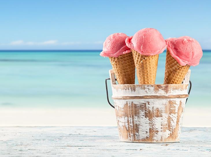Top 10 dei cibi da spiaggia