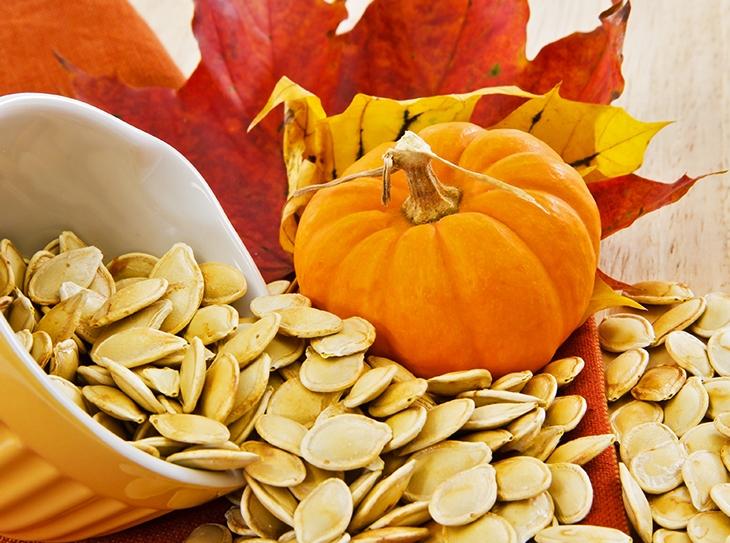 I versatili semi di zucca