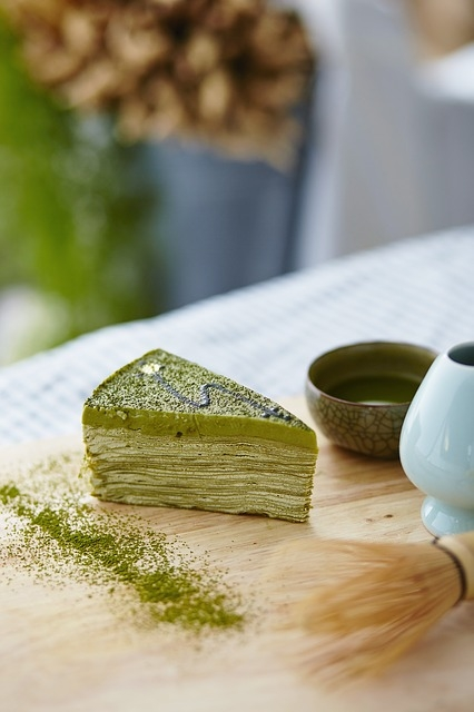 Sapore d'Oriente: dolci al tè verde