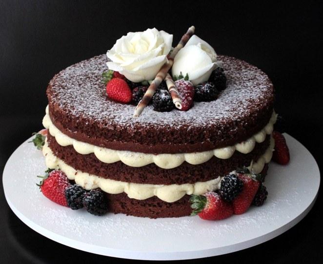 4 ricette per sfiziose naked cake facili da preparare