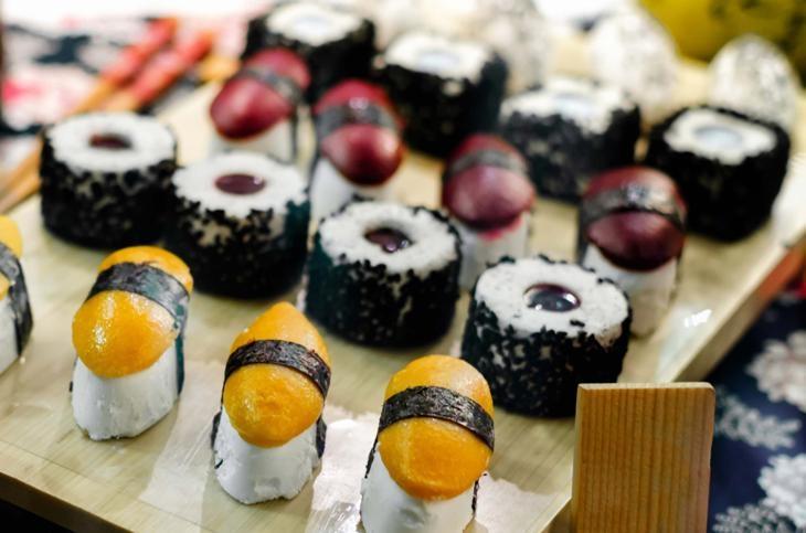 Gelato a forma di sushi: la nuova tendenza degli ice cream