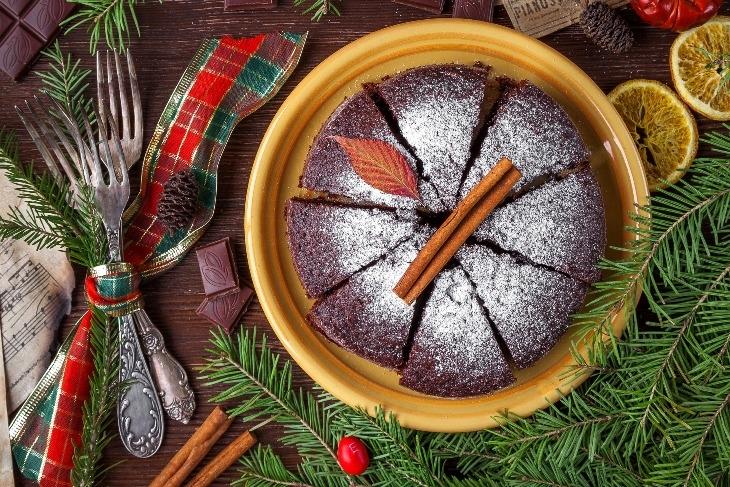 Torta brownies di Natale: un'idea originale per un dessert natalizio
