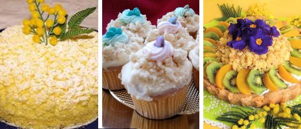 Dolci mimose per la Festa della Donna: crostate, cupcake e torta!