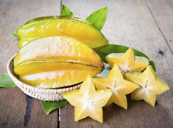 Carambola, il frutto stella