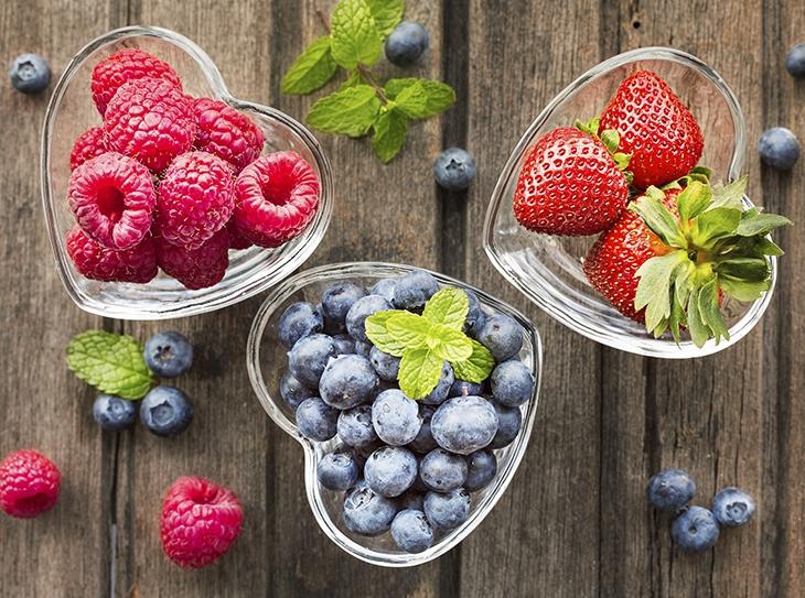 Top 10 dei frutti rossi