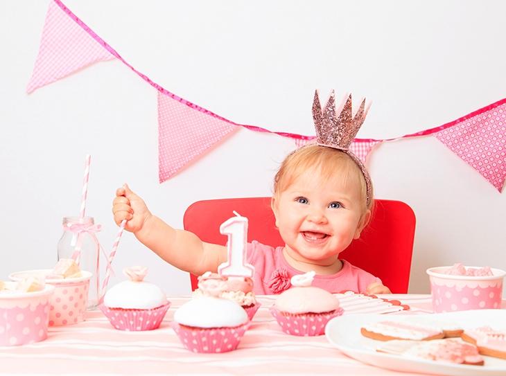 Come allestire una sweet table per un compleanno in rosa