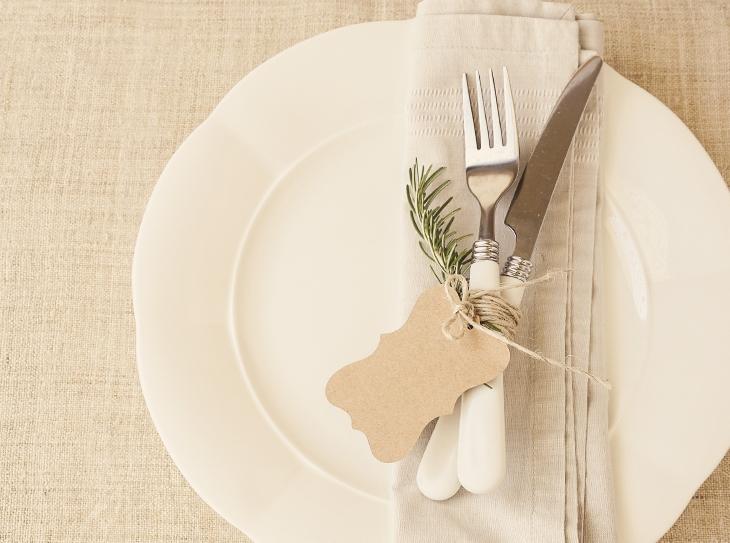 Decorazione della tavola: segnaposto profumati fai da te