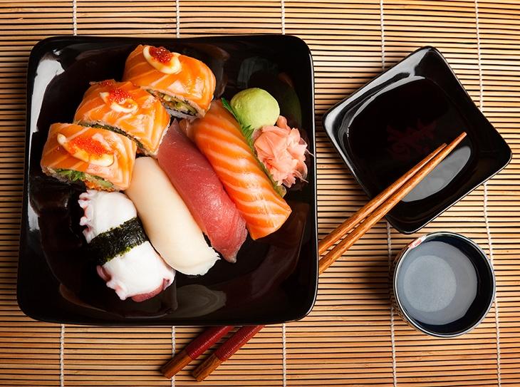 Intolleranza al glutine: tutti pazzi per il sushi gluten free