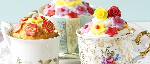 Cupcake: in tazzina sono più originali!