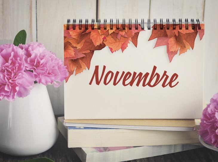 Appuntamenti di gusto per il mese di Novembre!