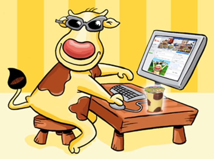 Muu Muu diventa social: è online la nuova pagina Facebook cameo Muu Muu