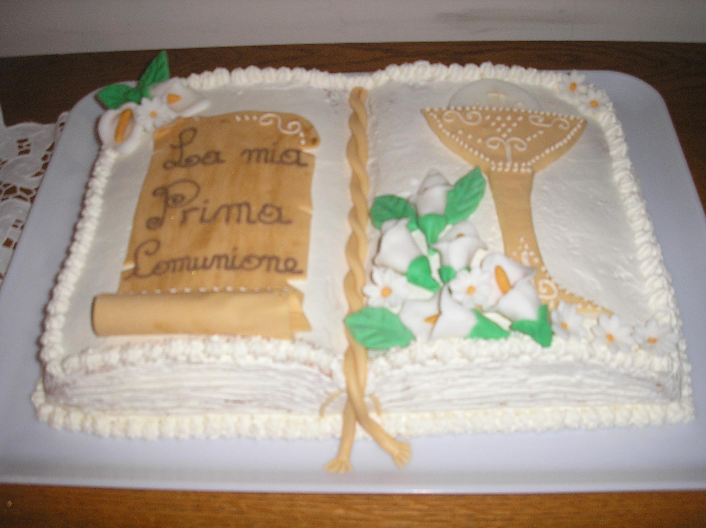 Top Ricetta torta prima comunione BW16
