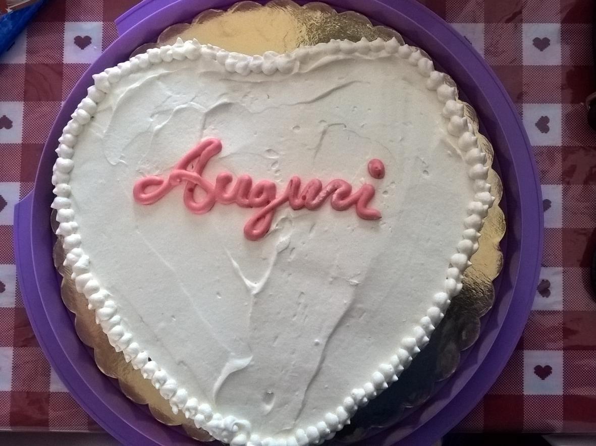 Ricetta Torta Di Compleanno A Forma Di Cuore Dolcidee