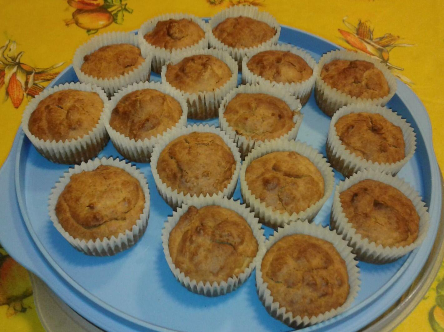 Mini Muffin yogurt e spezie