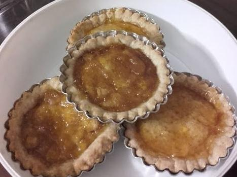 Crostatine con frolla integrale all'olio