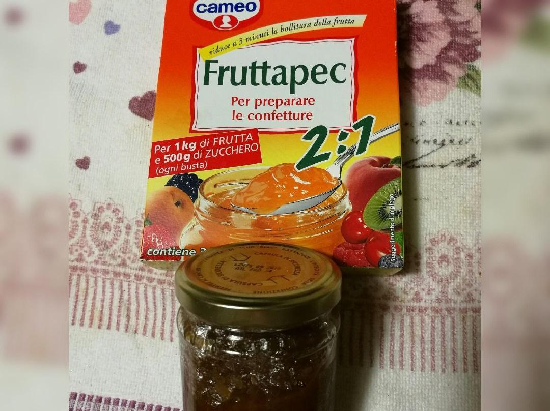 Far Bollire Vasetti Marmellata confettura di albicocche con fruttapec
