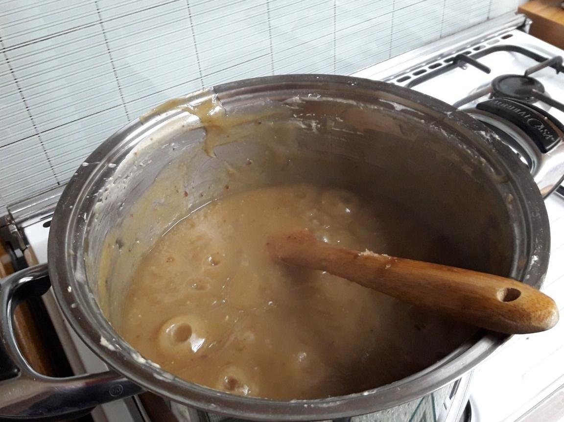 Far Bollire Vasetti Marmellata marmellata di castagne