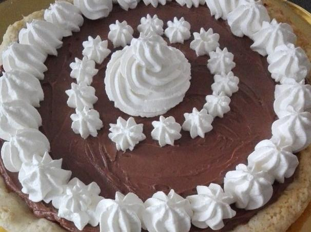 Ricetta Torta Nutella E Panna.Ricetta Crostata Con Nutella E Panna Dolcidee