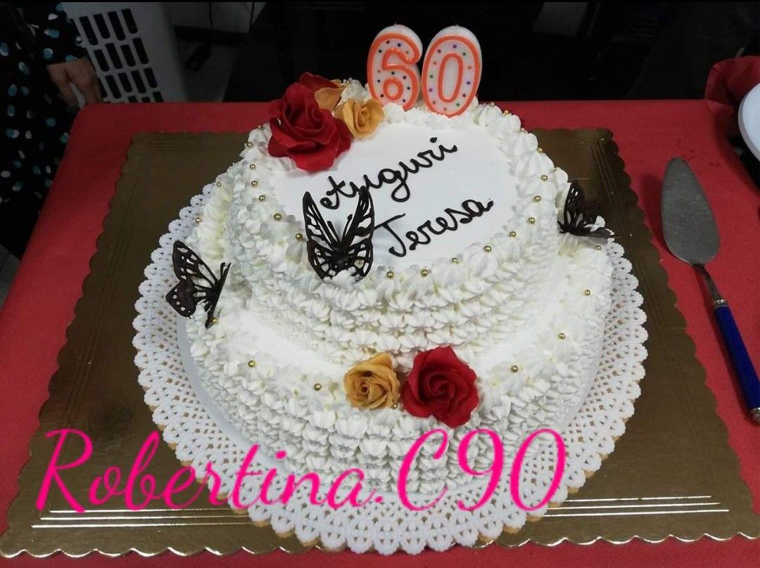 Torta Compleanno 60.Ricetta Torta 60 Anni Zia Tery Gluten Free Dolcidee