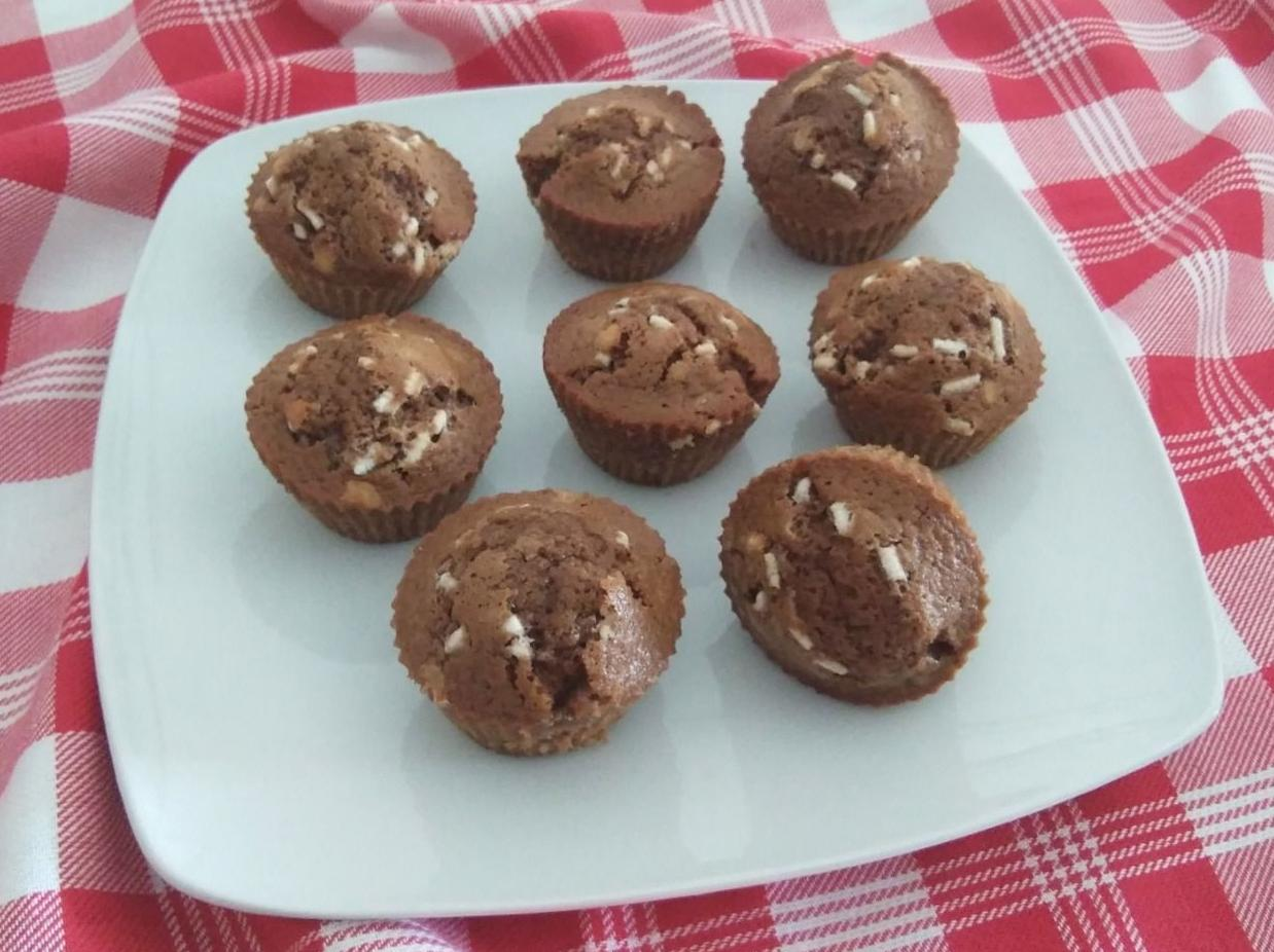 Muffin all'acqua con orzo