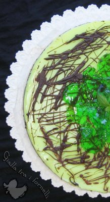 "Cheesecake ""after eight"" senza cheese"